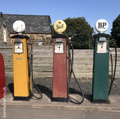 Old Fashioned Petrol Pumps