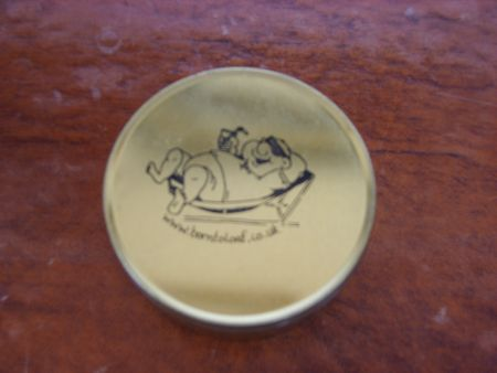 Tin With Engraved Logo